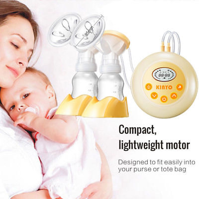 Double Electric Breast Pump Advanced Breastpump Baby Infant Bottle Feeding