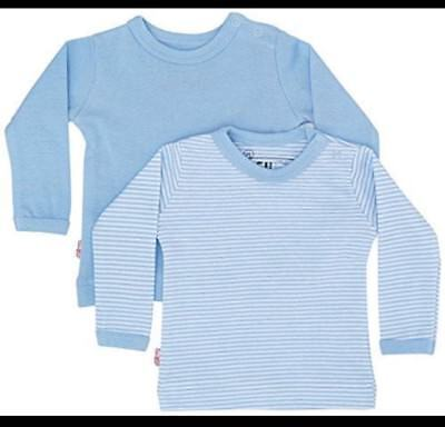 ISI MINI BABY TOP 2 PACK BABY BOY 3-6 months
