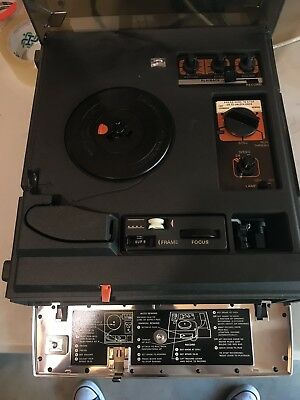 kodak 8mm super 8mm ektasound moviedeck 285 movie telecine projector rh picclick com