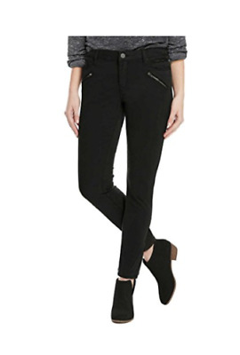 NEW!! Kenneth Cole Ladies' Moto Jess Skinny Jeans, Black VARIETY SIZES.