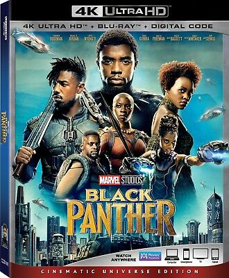 Black Panther (4K Ultra HD)(UHD)(Dolby Vision)(Atmos)