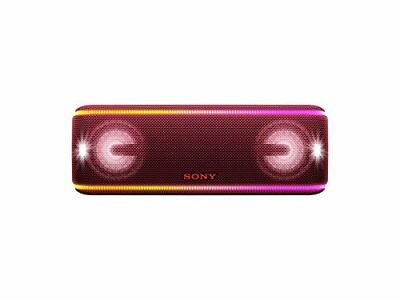 Sony SRS-XB41 Portable Wireless Bluetooth Speaker, Red (SRSXB41/R)