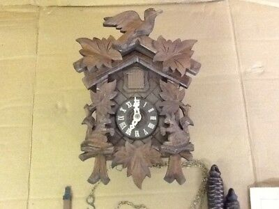Cuckoo clock genuine German Black Forest Cuckoo clock