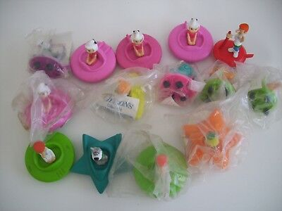 1989-90 Jetsons Hanna Barbera Wendy's Kid Meal Happy Meal (Mixed Lot )