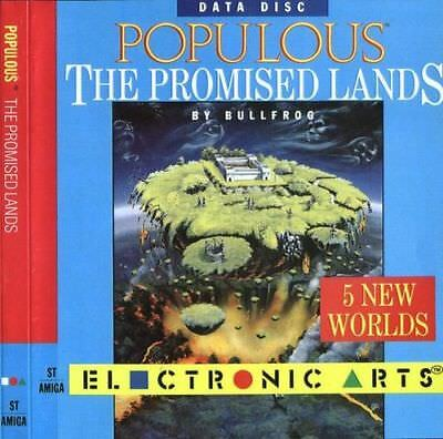 PC Populous The Promised Lands (1989) Big Box FDD Version