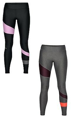 3843790437c2a9 UNDER ARMOUR FLY-BY Women's Heatgear Compression Leggings Black ...