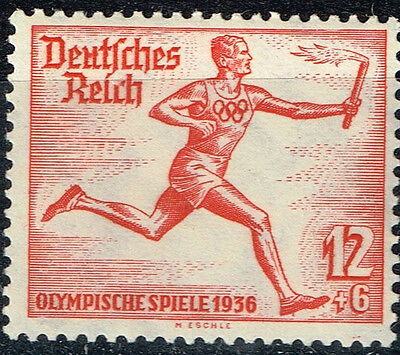 Germany Third Reich Berlin Summer Olympic Games stamp 1936 Openning MLH
