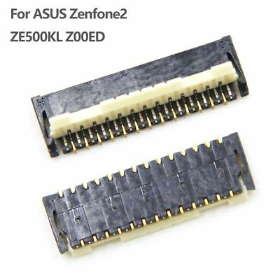 LCD FPC Connector Port Plug On Mainboard 27 Pin For ASUS Zenfone2 ZE500KL Z00ED