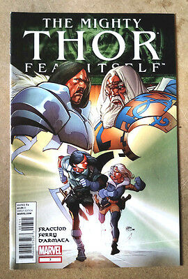 Mighty Thor #7 - 1St Print Marvel Comics (2011) Fear Itself