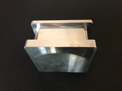 "New Rosin Tech Pre Press Mold 2"" x 2"" Flower Pressing Mold Raw Aluminum"