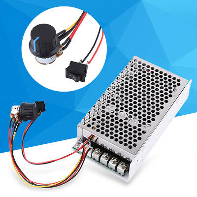 10-50V 100A 5000W Reversible DC Motor Speed Controller PWM Control Soft Start oe