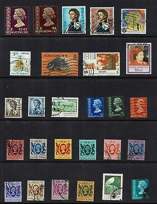 Hong Kong / China... Collection Of Various Stamps...page Lot