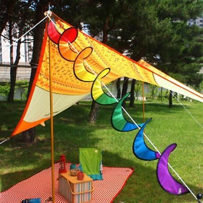 Spiral Latest Colorful Wind Windsock Twister Lawn Garden Special Stylish Decor