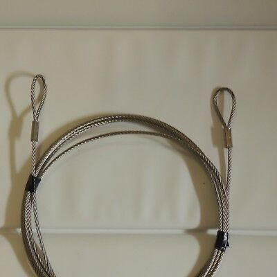 5 metre Stainless Steel 316  Marine Grade Security Cable