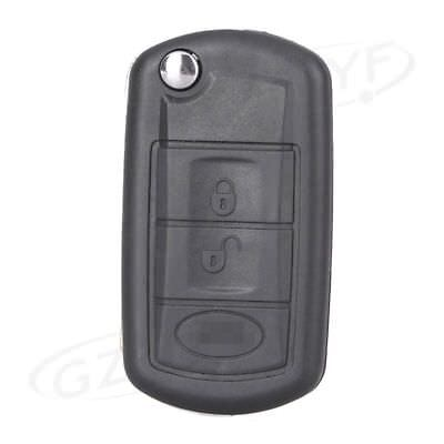 Flip Key Shell for Land Rover Range Rover Sport LR3 Discovery Case Fob 3 Button