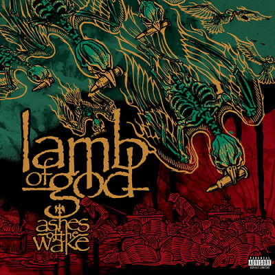 Lamb Of God - Ashes Of The Wake  Explicit Ve (CD Used Like New) Explicit Version