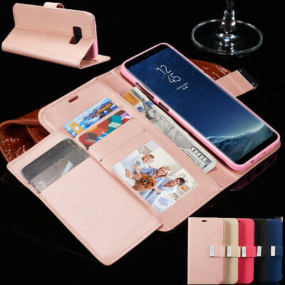 Case Cover For Samsung Galaxy S9 S8 Plus S7 Edge Flip Leather Wallet Card Holder