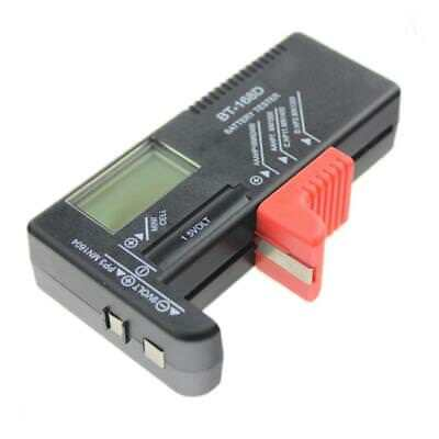 Battery Checker Tester for AA AAA C D 1.5V 9V Button Cell Battery