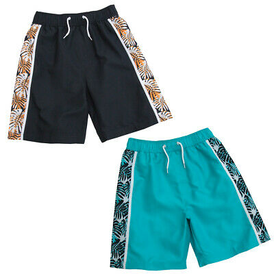Boys Bermuda Swim Swimming Shorts Trunks Swimwear Summer Holidays Beachwear Kids