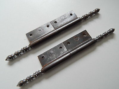 "7.5/8"" Lot of 2 Antique/Vintage French Hinge,Furniture,Cabinet, Door,Hardware"