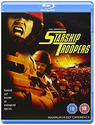 Starship Troopers [Blu-ray] Brand New & Sealed 8717418129217