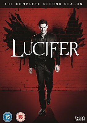 Lucifer Season 2 [DVD] [2017] Brand New Tom Ellis Lauren German 5051892206082