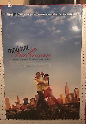Original Movie Poster For Mad Hot Ballroom Double Sided 27x40