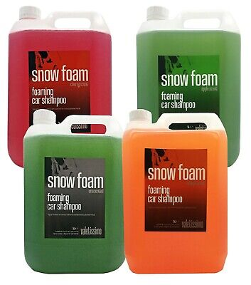 SNOW FOAM Car Shampoo Vehicle Cleaner | 5 Litre Containers | MULTI - LISTING