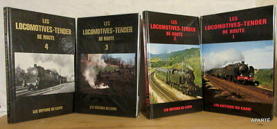 Gibert Banaudo Braun Les Locomotives-Tender De Route 4 Vols Cabri Tbe Rare