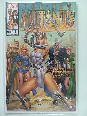 New Mutants #1 J Scott Campbell Variant B