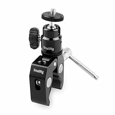 Smallrig Clamp Mount V1 w/ Ball Head Mount Hot Shoe Adapter and Cool Clamp - NEW