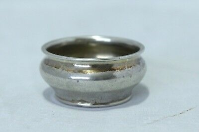 "Small Sterling Silver Salt Cellar - Stamped ""Sterling A4070"" - Birmingham"