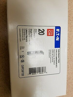 NEW Eaton Cutler Hammer 20 Amp Type CH Combination AFCI, CHFCAF120