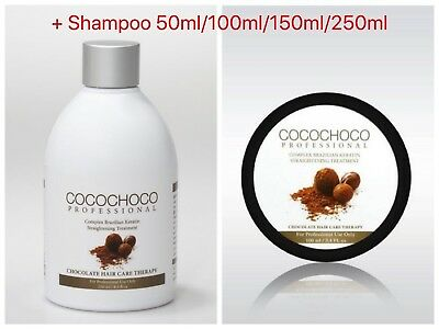Cocochoco Brazilian Keratin Treatment Blow Dry Hair Straightening + Shampoo Kit