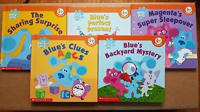 BLUE\'S CLUES Nick Jr Book Club Books Lot Of 5 Hardcover - $12.95 ...