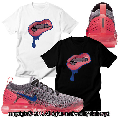 45a7836521f54 NEW CUSTOM T SHIRT matching NIKE AIR VAPORMAX PLUS FLYKNIT 2 AVP 1-13-16