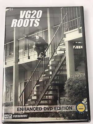 """VG20 Roots "" Inline Skate DVD Brand New Rare Retro Old school"