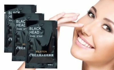 250x PILATEN Blackhead Remover Deep Cleansing Purifying Peel Acne Black Mud Face