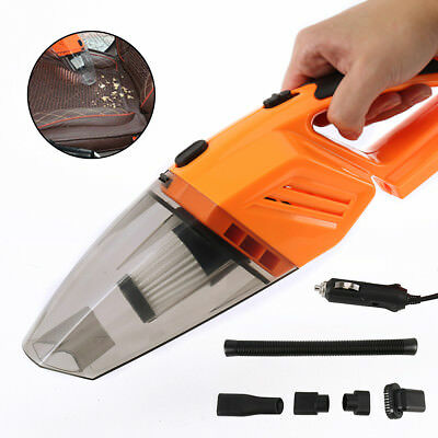 12V 120W Auto Car Vacuum Cleaner Dust Duster ABS Portable Mini Cyclonic Wet/Dry