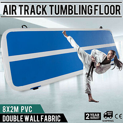 Inflatable Gym Mat Air Tumbling Track Floor Fitness Equipment Airtrack UK Stock