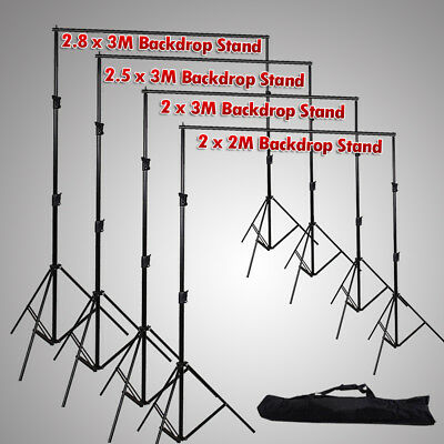 Photo Studio Video Heavy Duty Backdrop Stand Adjustable Background Support Kit
