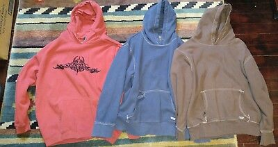 Lot of 3 Size Extra Large XL Preowned hoodies Industrial Exchange Top Heavy etc