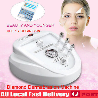 Diamond Dermabrasion Machine Microdermabrasion System Beauty Deep Clean Skin AU