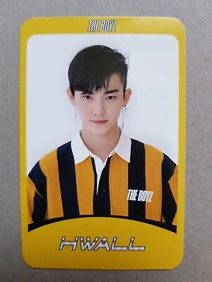 THE BOYZ HWALL Authentic Official PHOTOCARD [Special] 2nd Album THE START 활