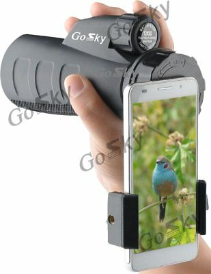 Gosky Quick Cell Phone Adapter Mount – Compatible with Binocular Monocular