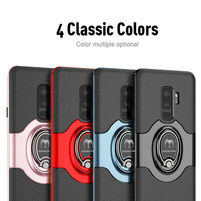 For Samsung Galaxy S9/ S8/ S10 Plus Note 9 8 Ring Shockproof Bumper Case Cover