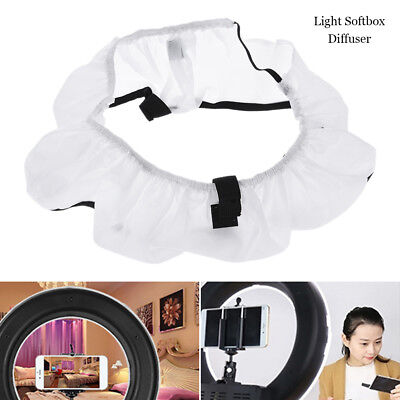 """18"""" Collapsible Photography Softbox Diffuser 75W Video Ring Light Camera Studio"""