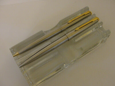 Two Parker Insignia Silver Mechanical Pencil Amp Jotter