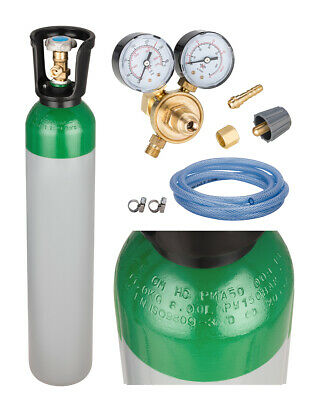 Cylinder with a mixture of Argon/ CO2 8l FREE EU SHIPPING