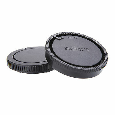 Front & Rear Lens Cap Cover for DSLR Sony A55 A290 A380 A390 A850 A230 A300 etc